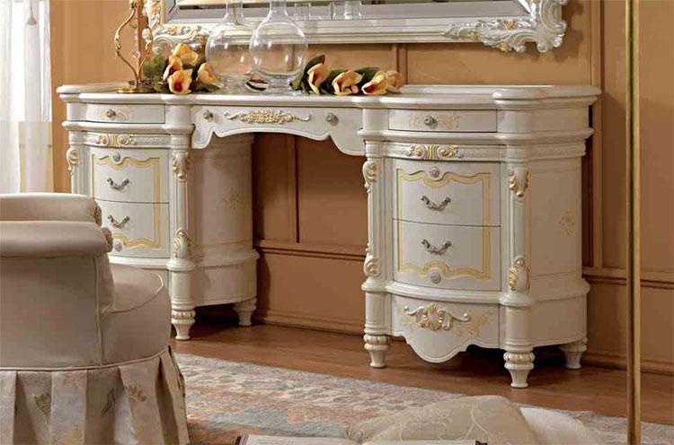 Luxus frisierkommode wei lack furnier klassische italienische stilm bel ebay - Stilmobel italien ...