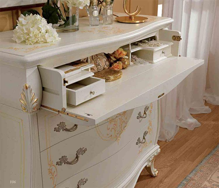 pouff sitzbank stoff wei massiv klassische italienische exklusive stilm bel ebay. Black Bedroom Furniture Sets. Home Design Ideas
