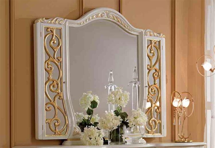 Luxus wandspiegel spiegel 3er wei furnier klassische - Italienische designer wandspiegel ...