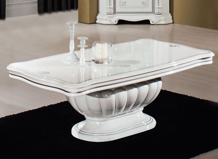 Couchtisch Wohnzimmertisch Luxus Martina 130 X 70 44 Cm Glas