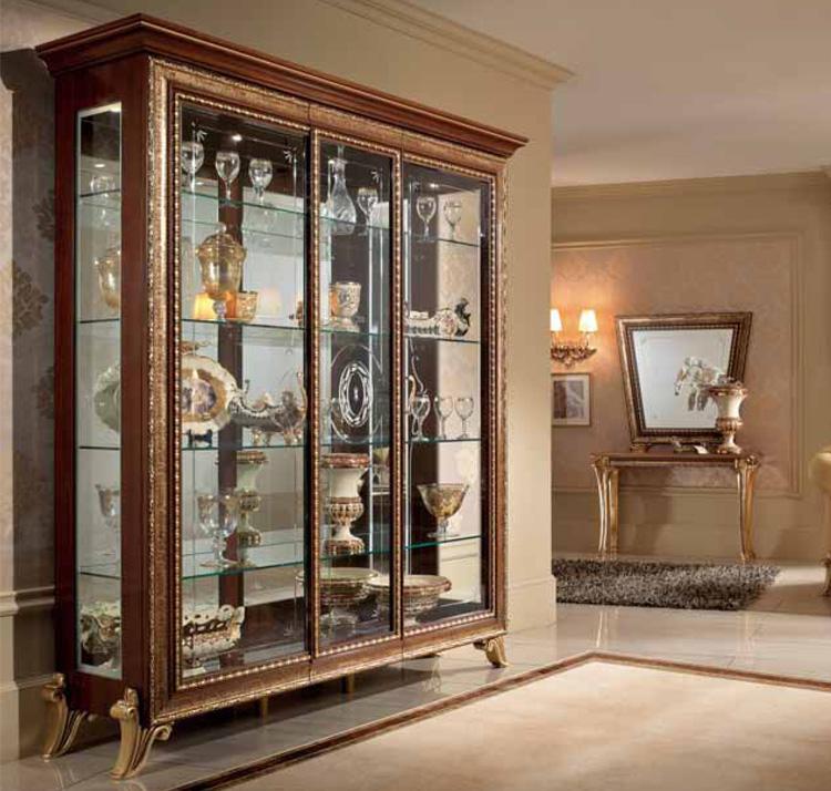 Luxus wohnzimmer esszimmer arredo classic stilm bel for Wohnzimmer nussbaum