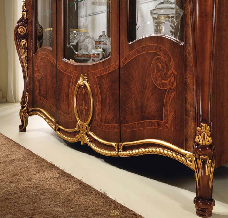 luxus wohnzimmer tische:luxus wohnzimmer schränke : Luxus Eck Vitrine Schwarz Gold Wohnzimmer