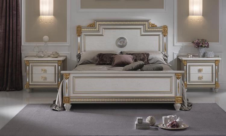 Exklusiver kleiderschrank liberty m bel italien klassik for Bett 200x200 metall