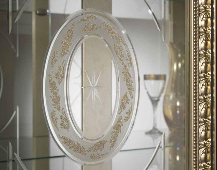 Luxus wohnzimmer esszimmer arredo classic stilm bel italien design nussbaum - Stilmobel italien ...