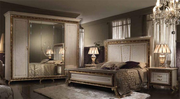 Design schlafzimmer raffaello luxus stilm bel italien arredo classic glamour - Stilmobel italien ...