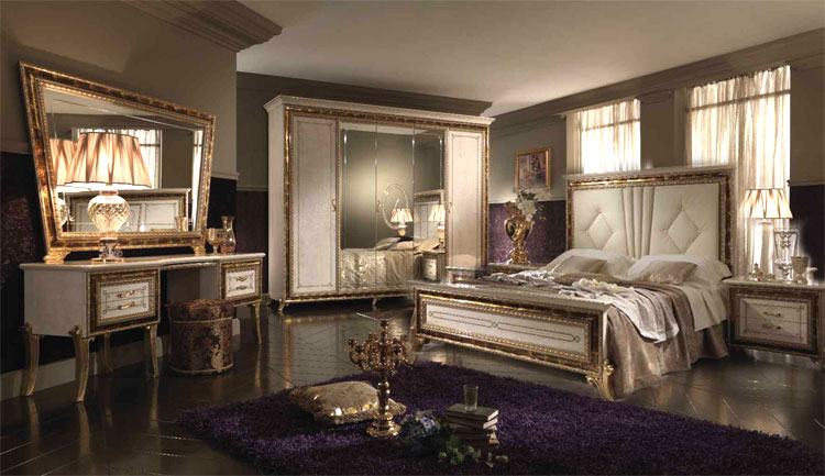 komplett schlafzimmer raffaello luxus stilm bel italien arredo classic glamour ebay. Black Bedroom Furniture Sets. Home Design Ideas