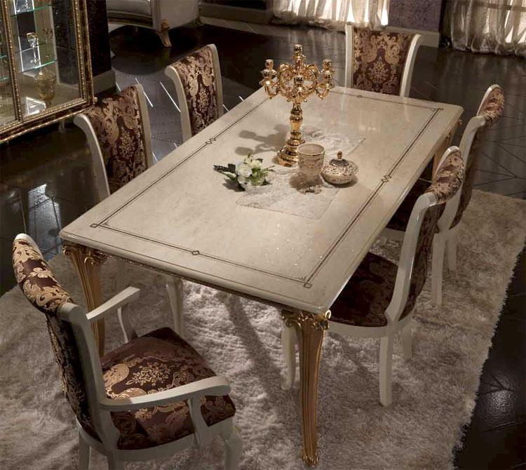 Esstisch Aus Italien ~ Esstisch Fest Königstil Raffaello Luxus Stilmöbel Italien Arredo Classic Glam