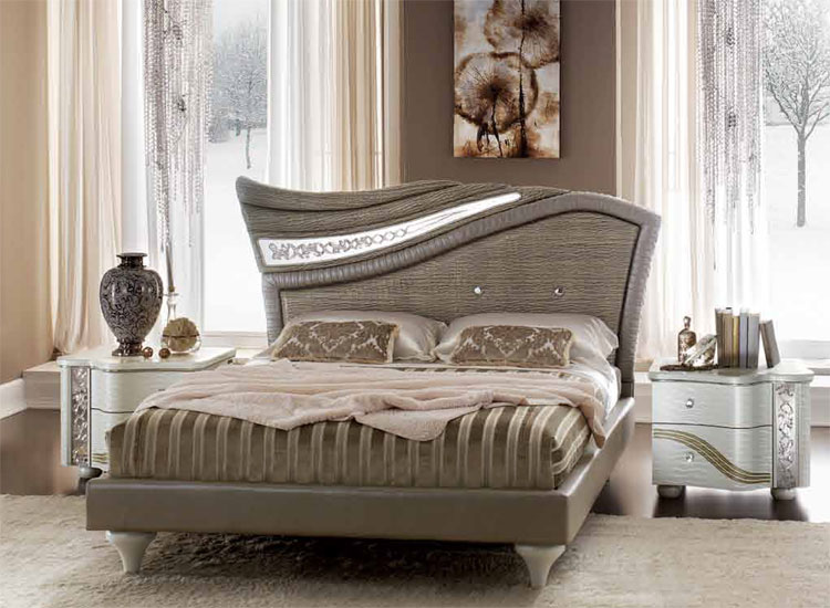 ebay schlafzimmer luxus komplett schlafzimmer tiziano beige ivory, Schlafzimmer ideen
