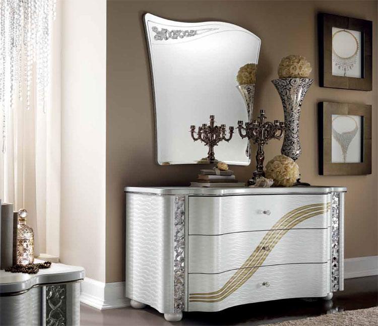 luxus komplett schlafzimmer set miro arredo classic klassische stilm bel italien ebay. Black Bedroom Furniture Sets. Home Design Ideas