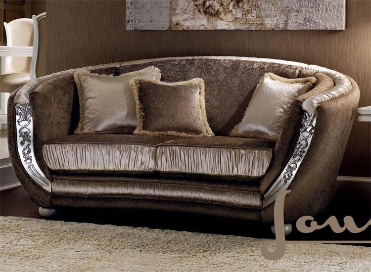 luxus sofa polster 3 sitzer zwei sessel klassische stilm bel aus italien neu ebay. Black Bedroom Furniture Sets. Home Design Ideas