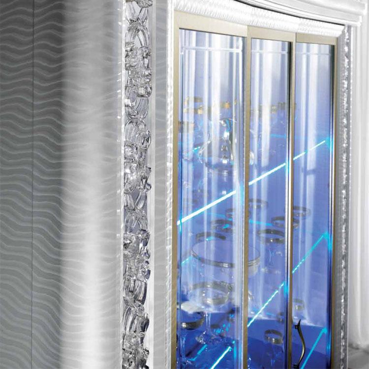 luxus plasma-tv-wohnwand wohnzimmer vitrine miro klassische, Hause ideen