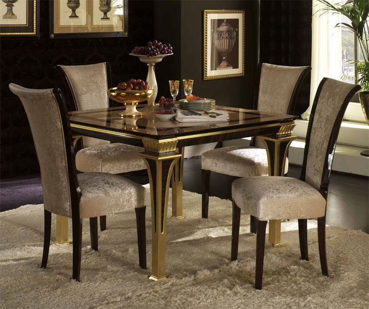 exklusiver esstisch 3m 10 st hle rossini beige gold klassische stilm bel italien ebay. Black Bedroom Furniture Sets. Home Design Ideas