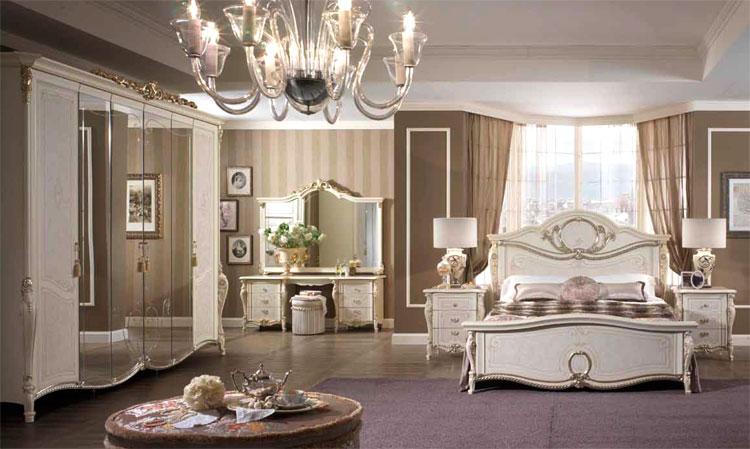 Schlafzimmer bei ebay  Luxus Komplett Schlafzimmer Tiziano Beige Ivory Klassische ...