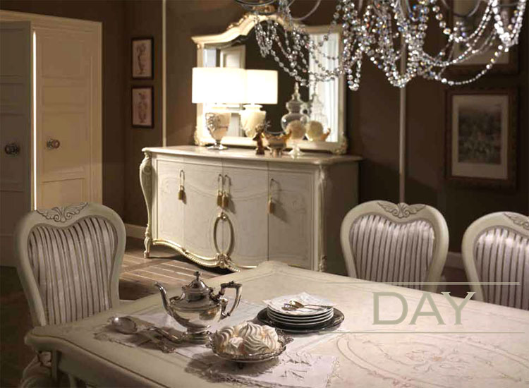 Luxus Komplett Schlafzimmer Tiziano Beige Ivory Klassische Stilmbel Italien