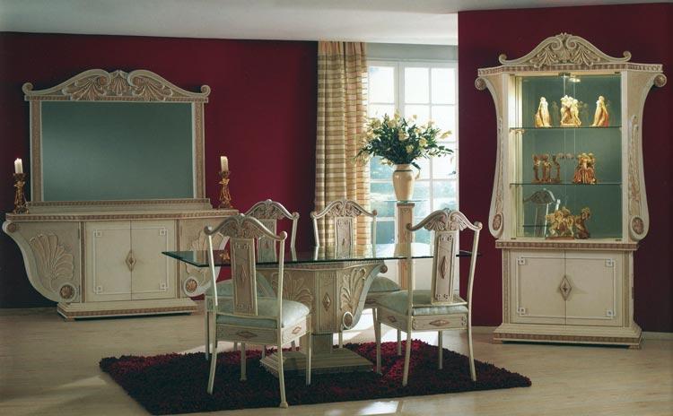 Komplett wohnzimmer esszimmer fossilsteinm bel neu ovp ebay for Wohnzimmer queen