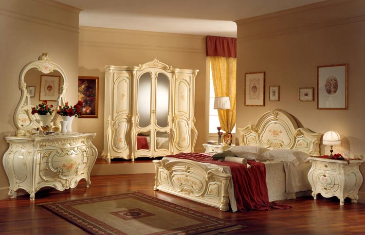 exclusive komplett luxus schlafzimmer barocco art epoque italien barock royal ebay. Black Bedroom Furniture Sets. Home Design Ideas