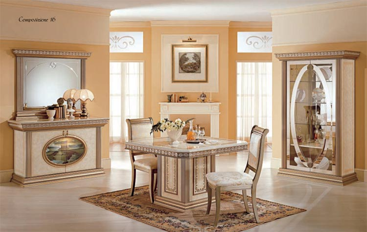 Schlafzimmer Qualitat : Tisch Esstisch Luxus Italia Exklusive Qualität Beige Gold Arredo