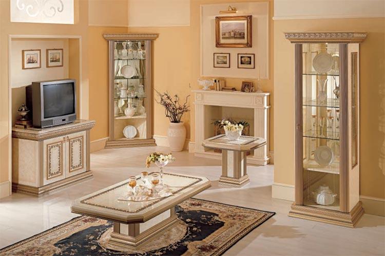 Spiegel wandspiegel wohnzimmer vitrine italia exklusive for Wandspiegel wohnzimmer