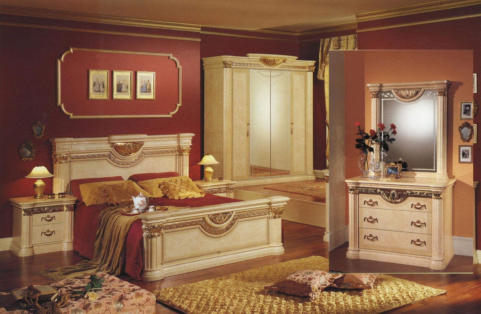 Komplett schlafzimmer modell lucy stilm bel italien neu ebay - Italienisches schlafzimmer ...