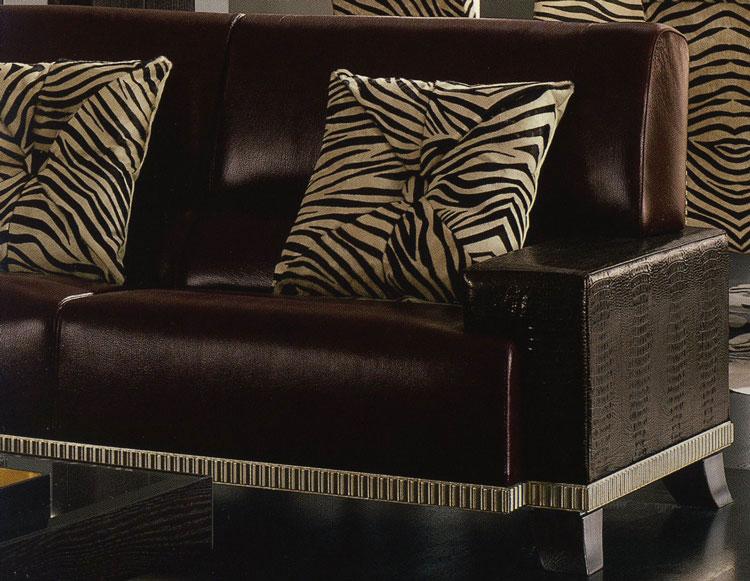 luxus echtleder garnitur sofa sessel m bel italien neu ebay. Black Bedroom Furniture Sets. Home Design Ideas