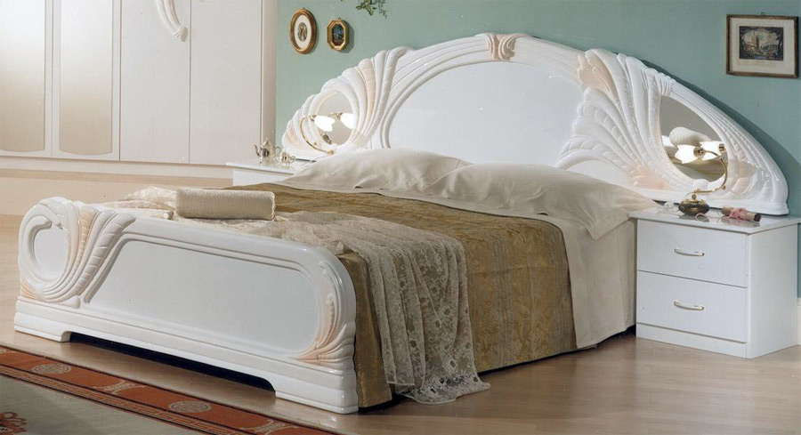 Schlafzimmer Qualitat : Klassisches Design Schlafzimmer Möbel Italien Weiss Lola Qualität