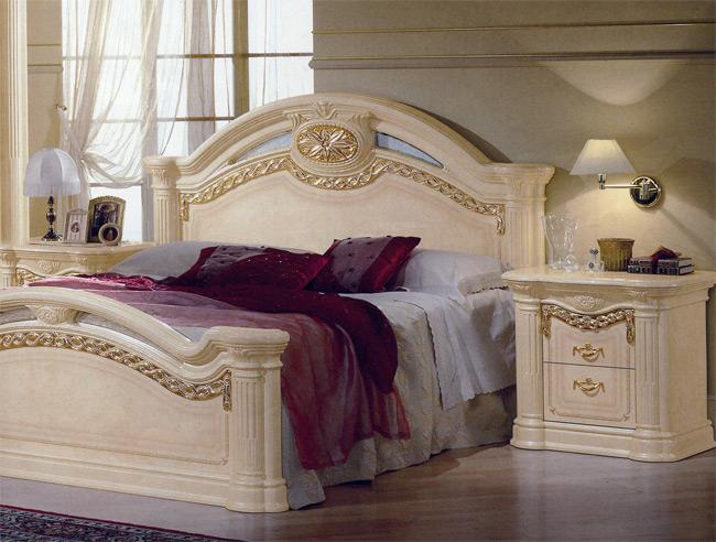 Design schlafzimmer kommode bett schrank italien klassik - Hochglanz schlafzimmer italien ...