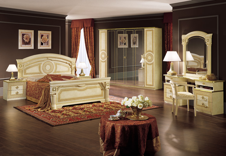 design m bel schlafzimmer kleiderschrank italien luxus schick designerm bel ebay. Black Bedroom Furniture Sets. Home Design Ideas