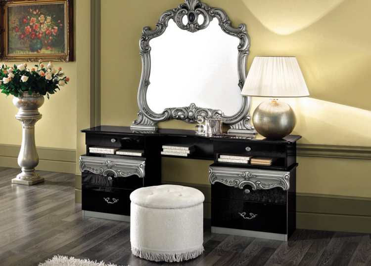 komplett schlafzimmer barocco stilm bel aus italien beige klassik barock. Black Bedroom Furniture Sets. Home Design Ideas