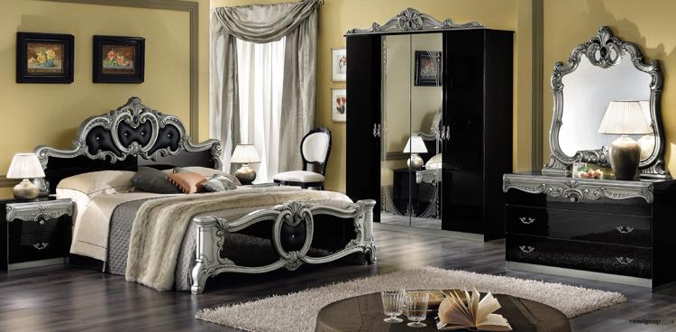 wohnzimmer klassik - Wohnzimmer Schwarz Silber