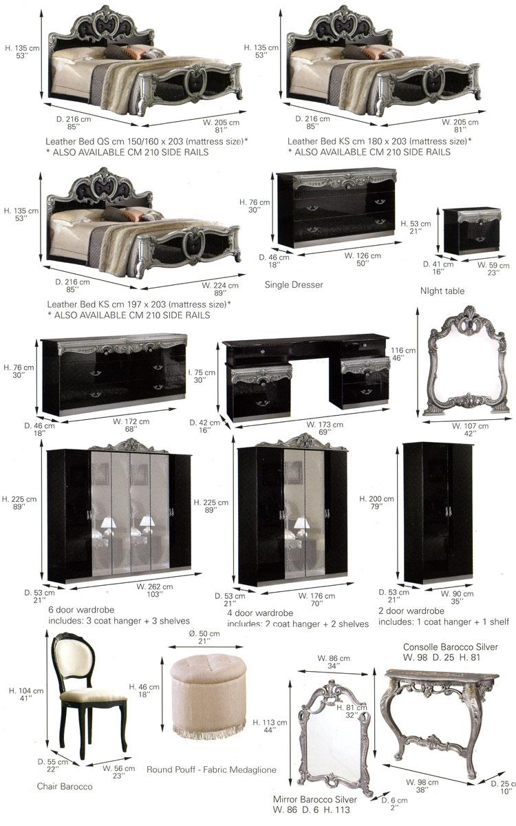 design keramik vase h26cm barock italia klassik glamour. Black Bedroom Furniture Sets. Home Design Ideas