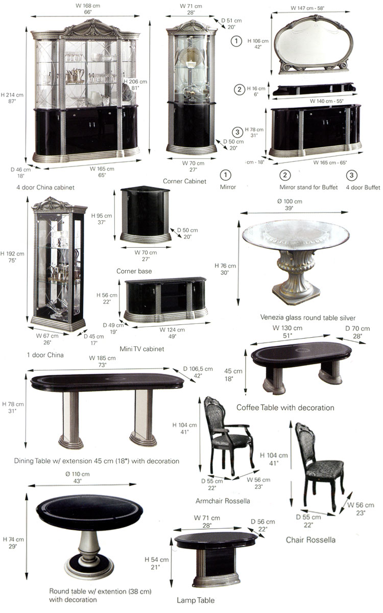 design keramik vase h25cm barock italia klassik glamour. Black Bedroom Furniture Sets. Home Design Ideas