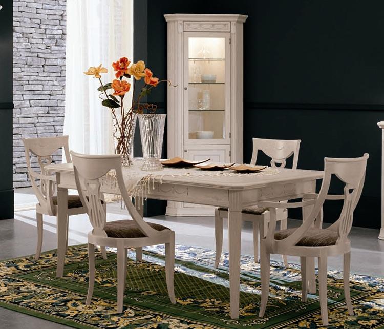 vitrine esche 1tr glas eckvitrine italienisch luxus design stilm bel italien ebay. Black Bedroom Furniture Sets. Home Design Ideas