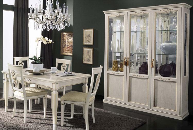 Esstisch Aus Italien ~ Esstisch EscheHolz Weiß Oval Ausziehbar Klassische Stilmoebel aus Italien