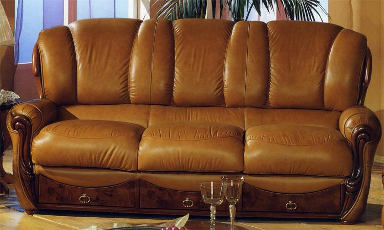 luxus leder sofa garnitur m bel und heimat design. Black Bedroom Furniture Sets. Home Design Ideas