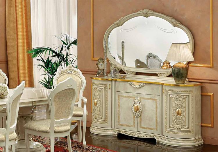 Exklusiver Couchtisch Leonardo Gold Luxus Möbel aus