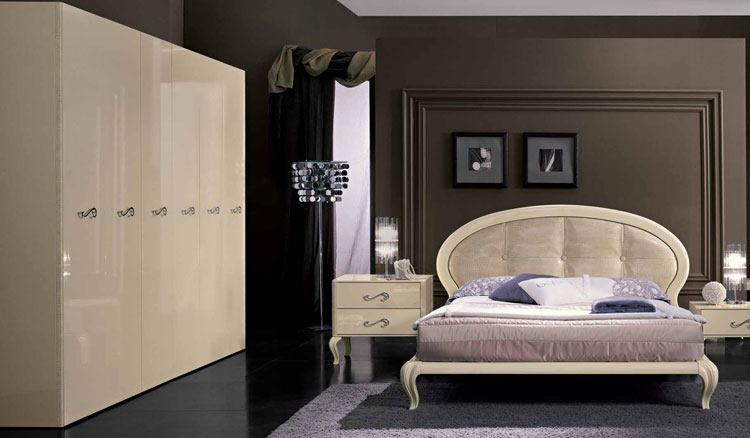 Komplett luxus schlafzimmer modern trend magic hochglanz - Hochglanz schlafzimmer italien ...