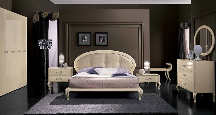 komplett luxus schlafzimmer modern trend magic hochglanz deluxe m bel italien ebay. Black Bedroom Furniture Sets. Home Design Ideas