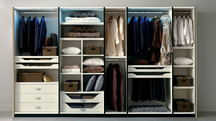 exklusiver kleiderschrank magic hochglanz moderne trendige luxus m bel italien ebay. Black Bedroom Furniture Sets. Home Design Ideas