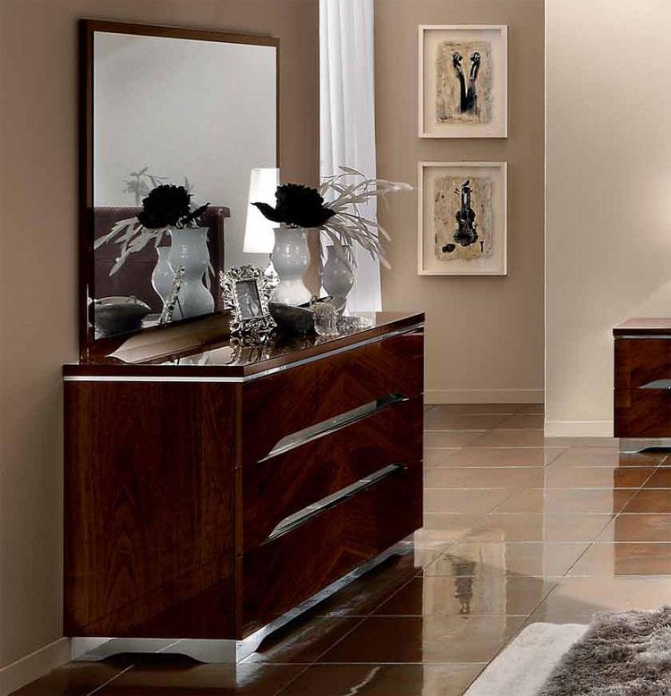 Luxus kommode 134cm matrix modern deluxe stilm bel italien design nussbaum ebay - Stilmobel italien ...