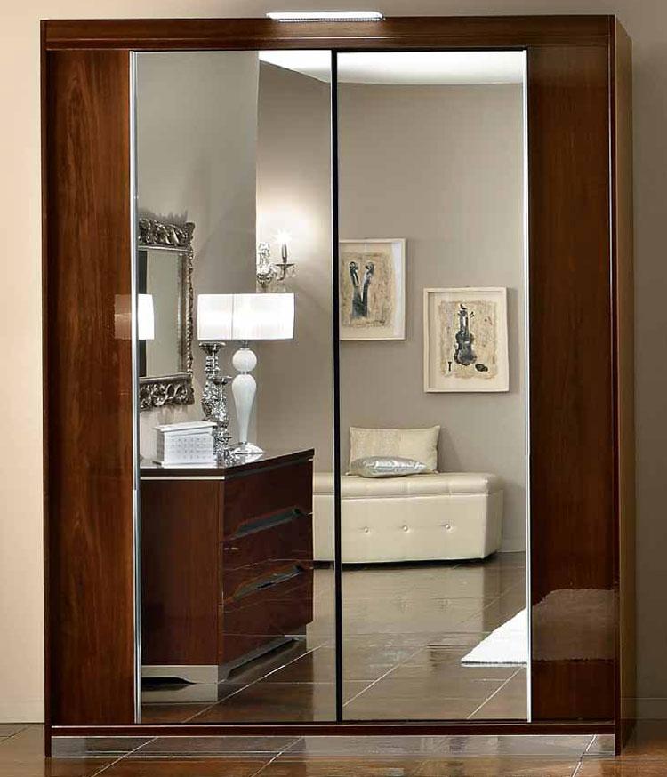 komplett schlafzimmer matrix hochglanz modern stilm bel italia design nussbaum ebay. Black Bedroom Furniture Sets. Home Design Ideas