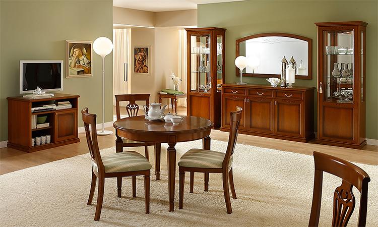komplett m bel wohnzimmer set esszimmer vitrine klassische stilm bel italien. Black Bedroom Furniture Sets. Home Design Ideas