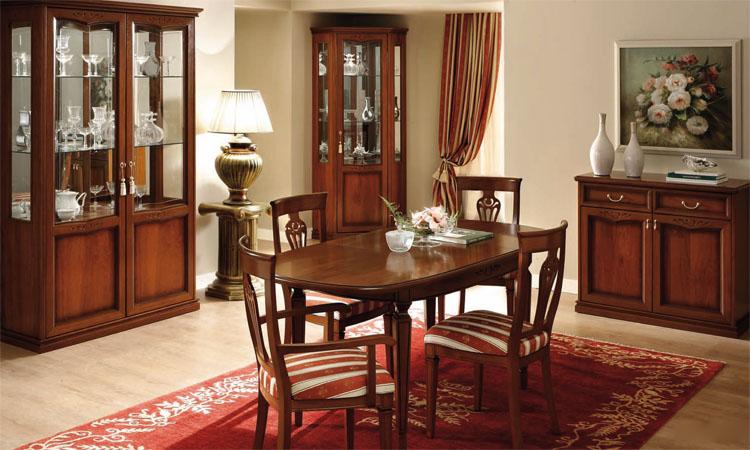 Komplett m bel wohnzimmer set esszimmer vitrine klassische stilm bel italien ebay - Stilmobel italien ...