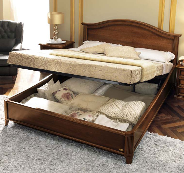 luxus bett 160x200 eco leder beige nussbaum furnier. Black Bedroom Furniture Sets. Home Design Ideas