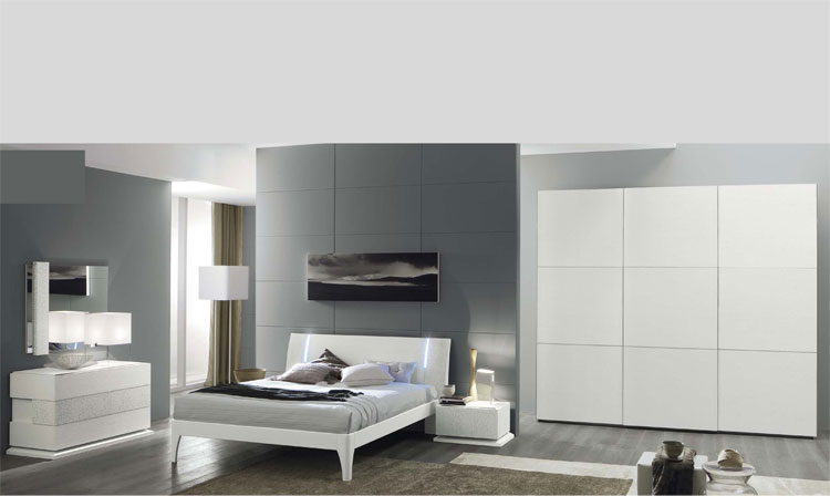 modernes schlafzimmer komplett trendige m bel. Black Bedroom Furniture Sets. Home Design Ideas