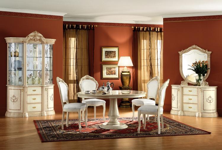 Luxus esstisch ausziehbar rossella klassische stilm bel aus italien ebay - Stilmobel italien ...