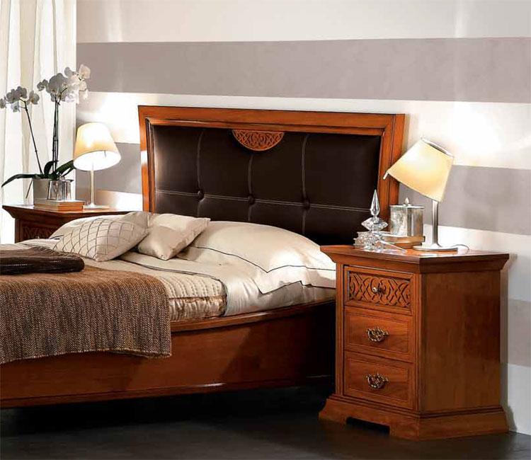 Komplett schlafzimmer set holz furnier exklusive - Italienische designer wandspiegel ...