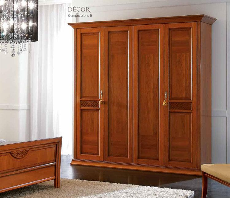 komplett schlafzimmer set holz furnier exklusive italienische stilm bel ebay. Black Bedroom Furniture Sets. Home Design Ideas