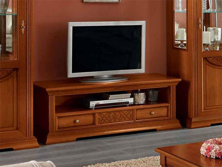 luxus tv plasma unterschrank nussbaum furnier klassische. Black Bedroom Furniture Sets. Home Design Ideas