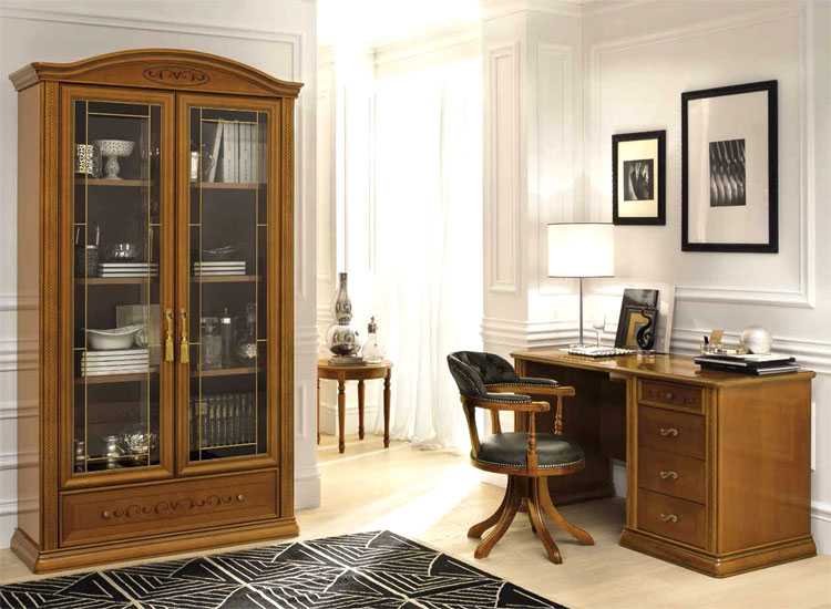 luxus schreibtisch b ro office m bel set siena klassische stilm bel italien ebay. Black Bedroom Furniture Sets. Home Design Ideas