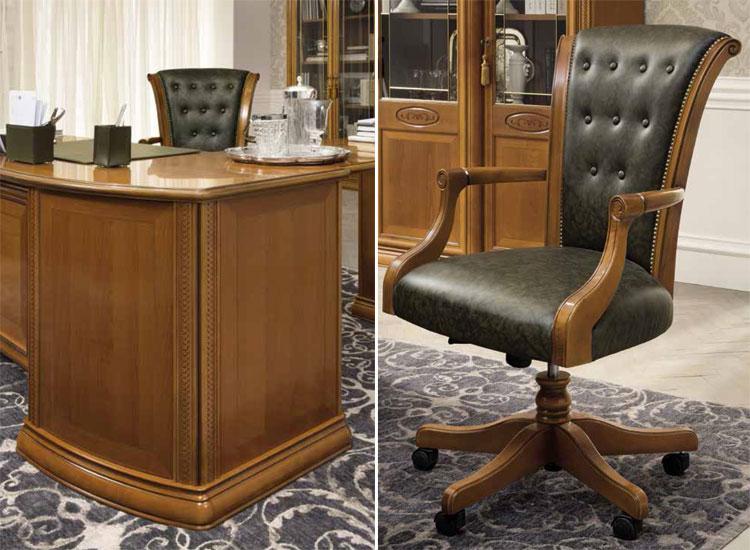Luxus chefsessel  Luxus Chefsessel Eco-Leder Grün Büro Office Siena Klassische ...
